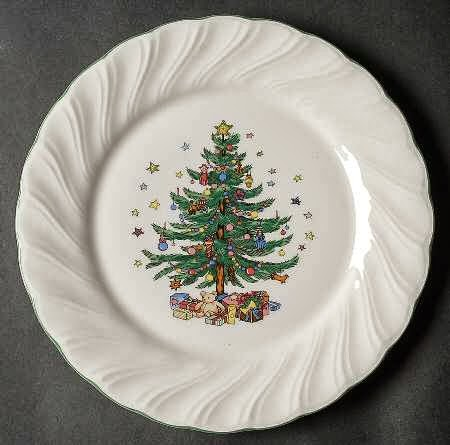 Tiffany Garland Christmas China