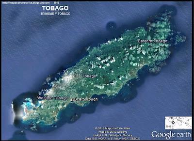 TRINIDAD Y TOBAGO, Foto de TOBAGO (google eath)