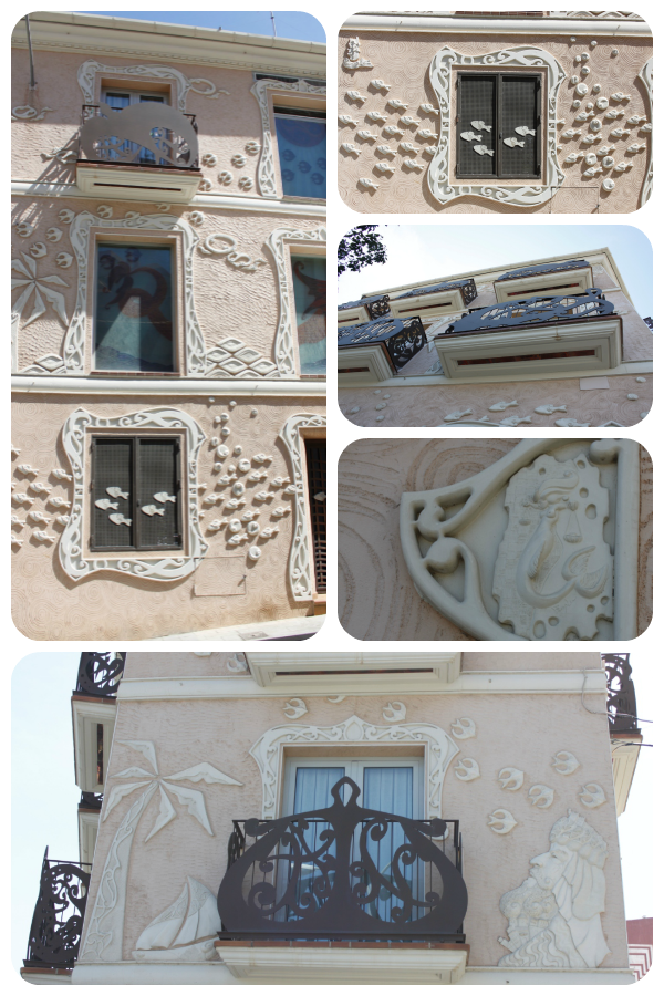 decoracion fachada edificio alicante