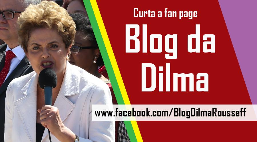 Curta fan page Blog da Dilma