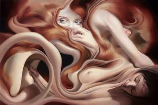 Desnudos Pintura Abstractos Contemporaneos