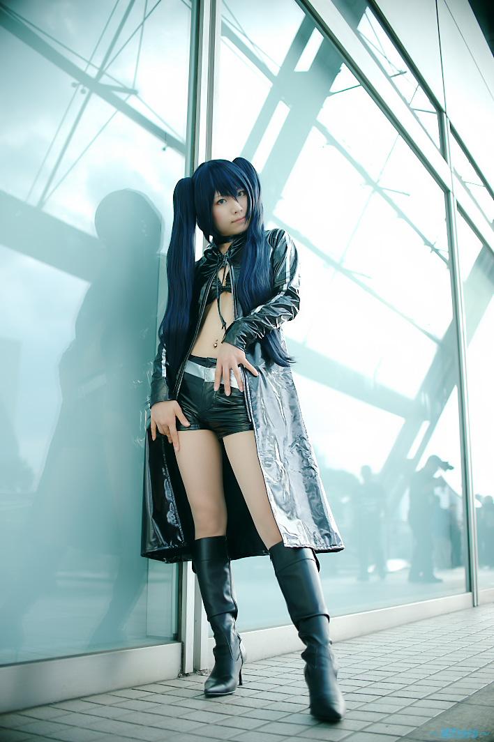 Linda chica cosplay censurado