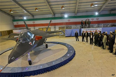 Iran's Qaher F-313 Stealth  Fighter Jet