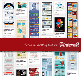 Pinterest en un plan de marketing online