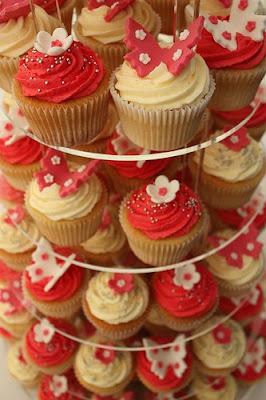 variant cupcake for wedding cake