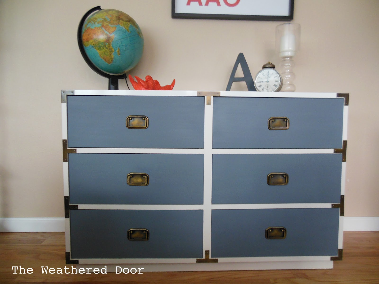 Beau ... Off That Hardware, Give The Drawers Some Red Paint, Then Pop The  Hardware Back On. I Could Change The Color Every Month If I Wanted To. Itu0027s  That Easy!
