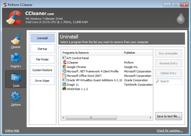 Free Download CCleaner 4.164736 Terbaru Full Version