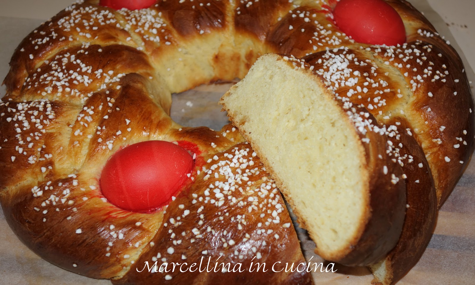 Marcellina in Cucina: Italian Easter Bread with a Greek twist