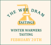 The Wee Dram Winter Warmers Tasting