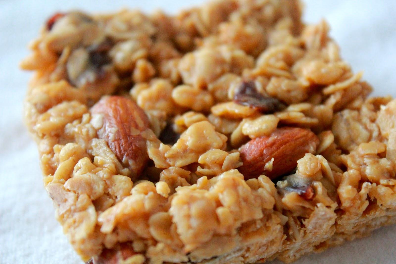 Detox January, Week 1: Peanut Butter-Oatmeal Breakfast Bars | Yankee ...