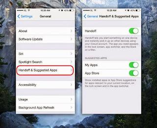 cara mudah setting iphone