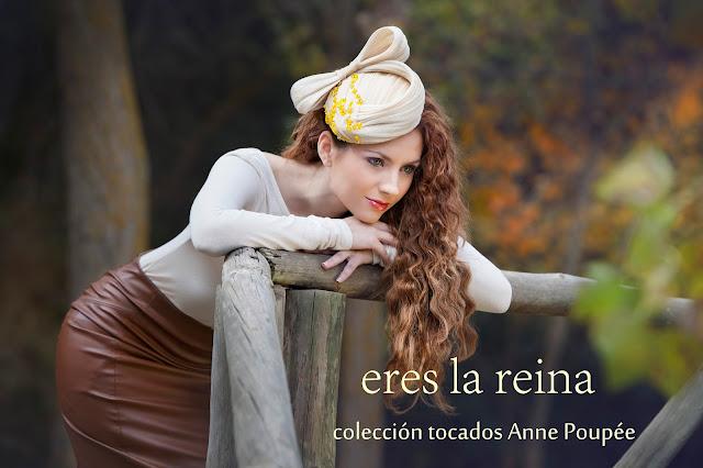 nueva colección tocados Anne Poupée