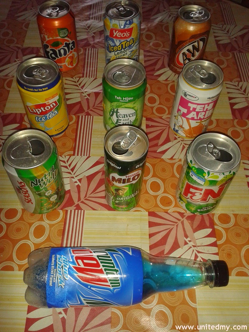 Top 10 canned drinks in Malaysia