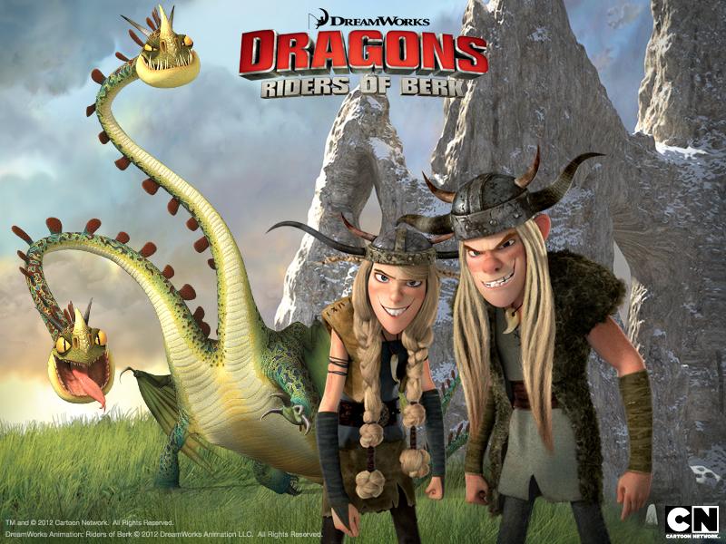 Wallpapers Jugar Dragones Cielos Salvajes De Los Dragones De Berk