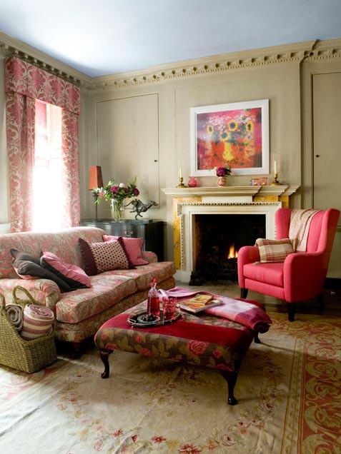 Romantic Living Room Interior Decoration Ideas
