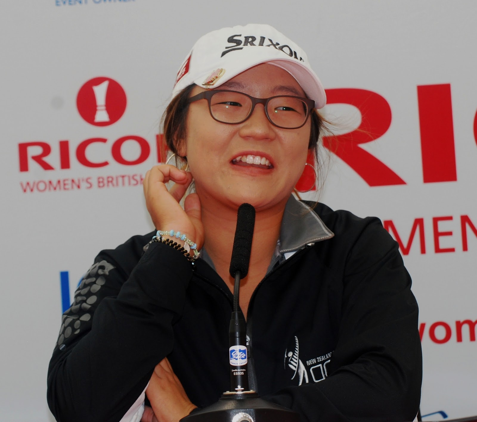 World No 1 female amateur Lydia Ko (New Zealand), pictured, was surprisingly ...