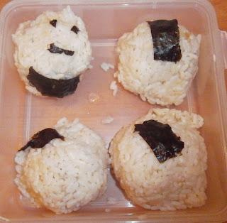 D lices d 39 une novice onigiri au thon japon - Quantite de riz par personne ...