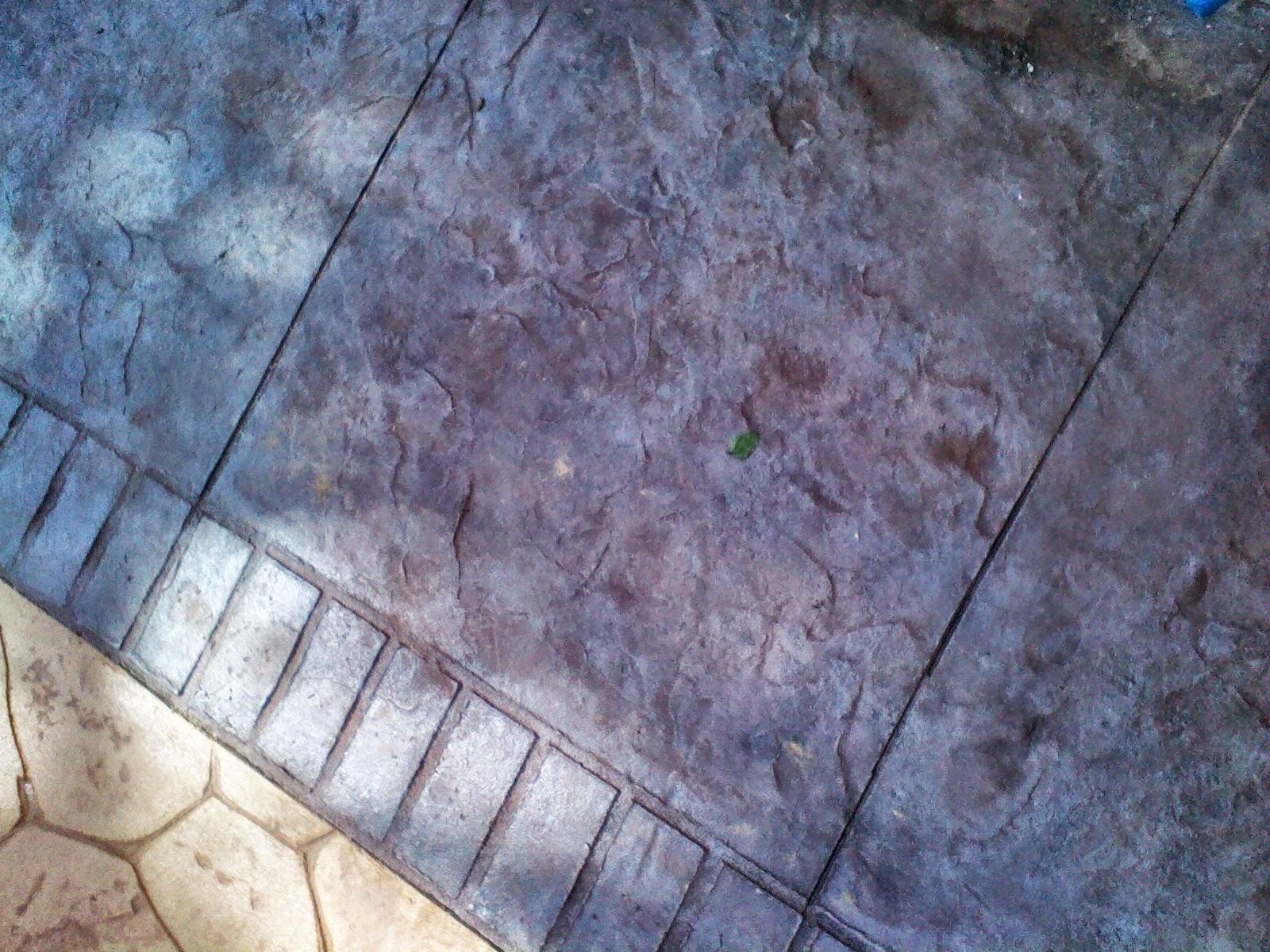 Hormigon impreso realizado en calicanto pavimentos - Que es el hormigon impreso ...
