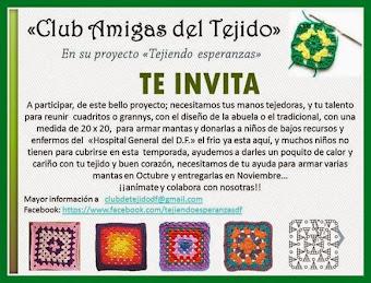 Convocatoria a todas las tejedoras de México