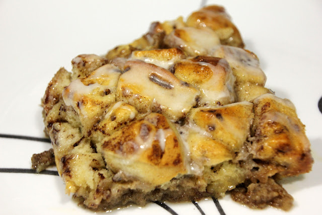 Cinnamon Roll Breakfast Bake