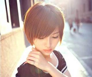 gaya rambut model chic short