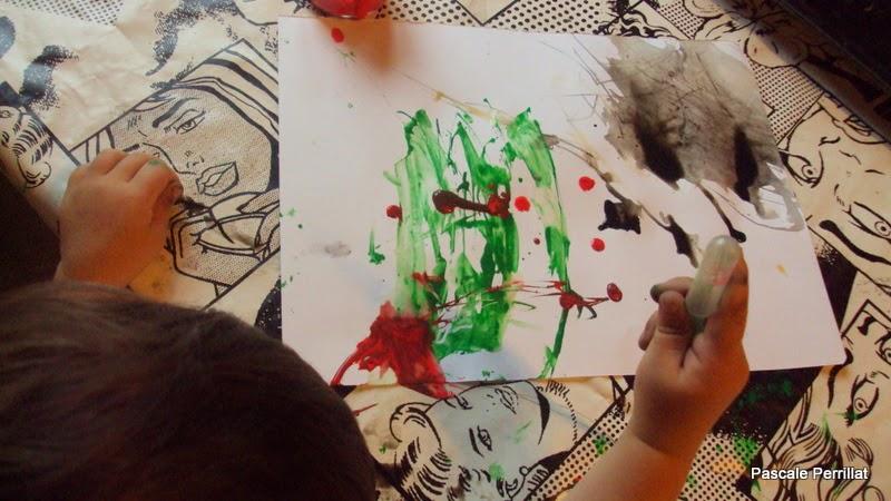 nounou pascale  explorer la peinture au compte