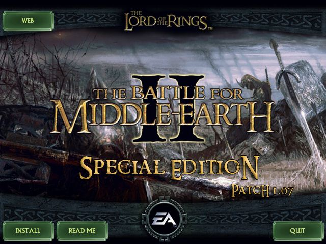 lord of the rings battle for middle earth патч windows 7