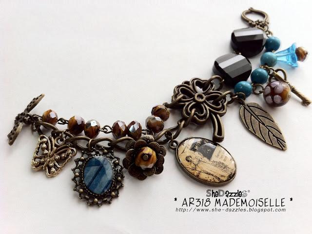 mademoiselle-charm-bracelet-resin-pendant-blue
