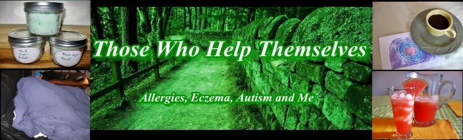 Those Who Help Themselves:  Allergies, Eczema, Autism and Me