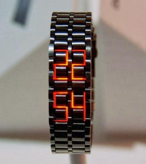 Jam Iron samurai tokyo Flash model jam tangan pria populer trendy ngetrend tahun ini 2014
