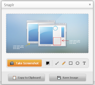 Snaplr: Take, Edit And Annotate Screenshots