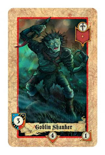Lords of war card game review Goblin Shanker