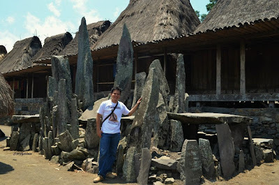 Bena, traditional and Megalithic Village of Ngada NTT