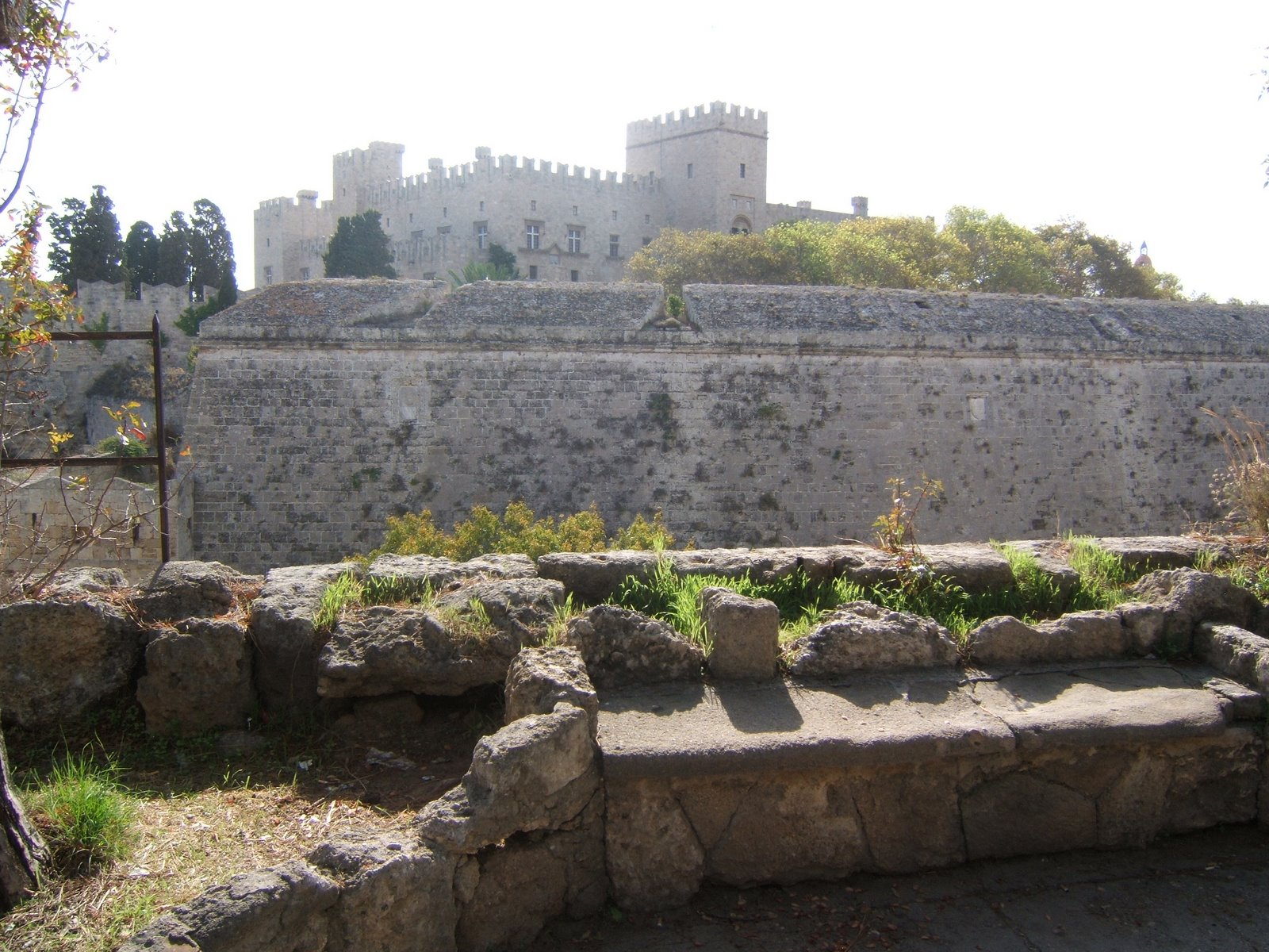 The castle of the Knight's of St. John.