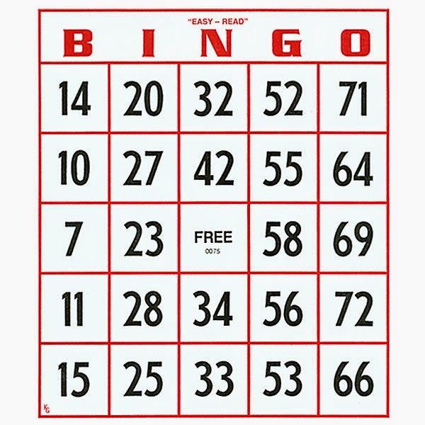 It's just a picture of Punchy Bingo Card Printable