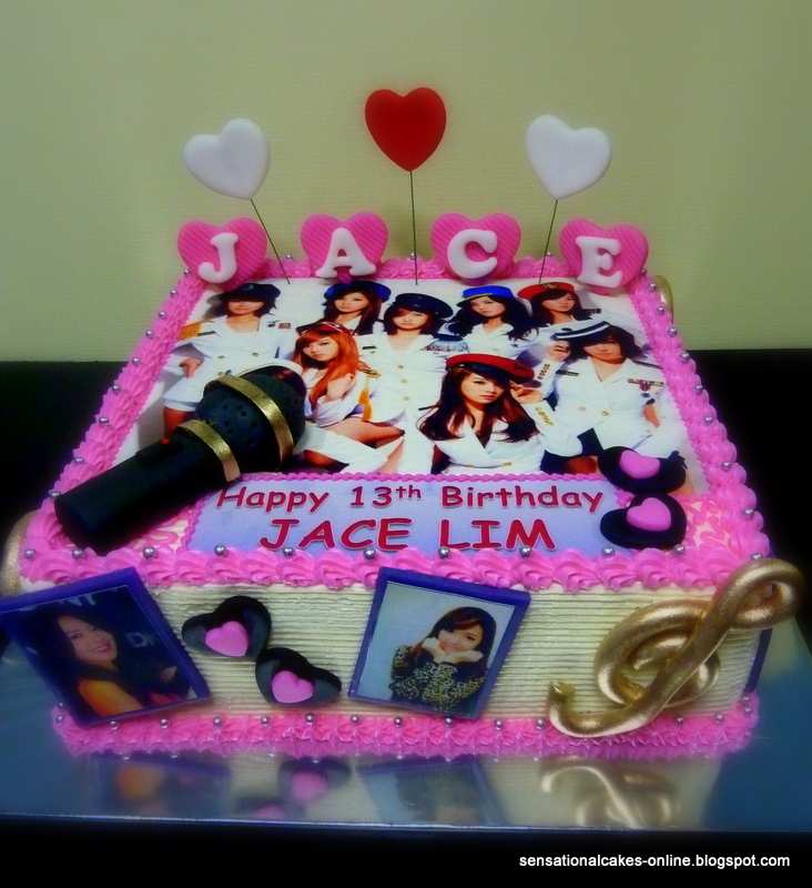 Cake Inspiration Girls Generation Cake Singapore Snsd Jace Lim
