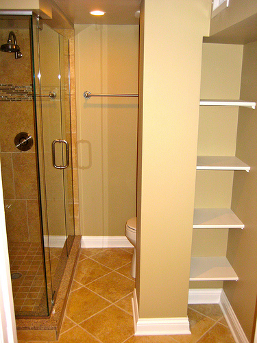 Small bathroom remodeling ideas home interior design for Shower remodel ideas for small bathrooms