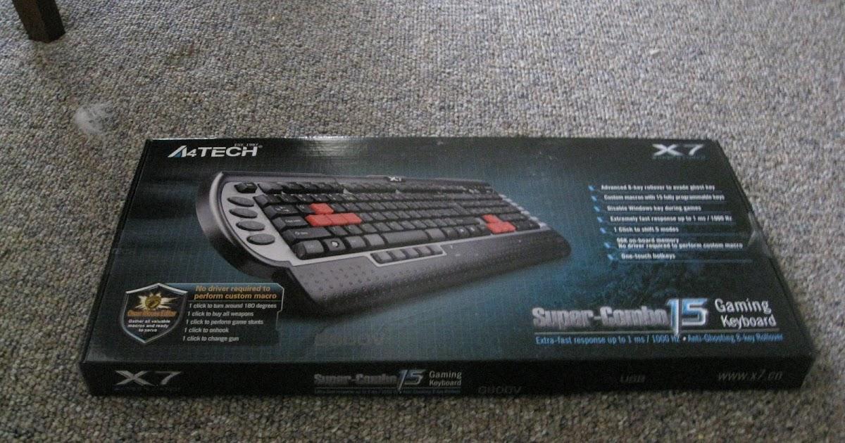 Скачать драйвера для клавиатуры A4tech X7 G800mu