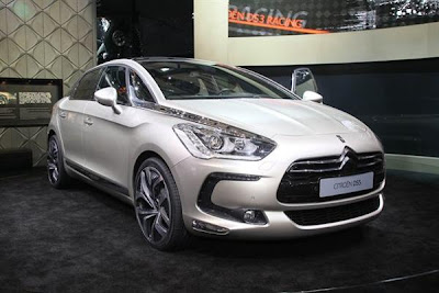 Front side 2012 citroen ds5 hibryd.