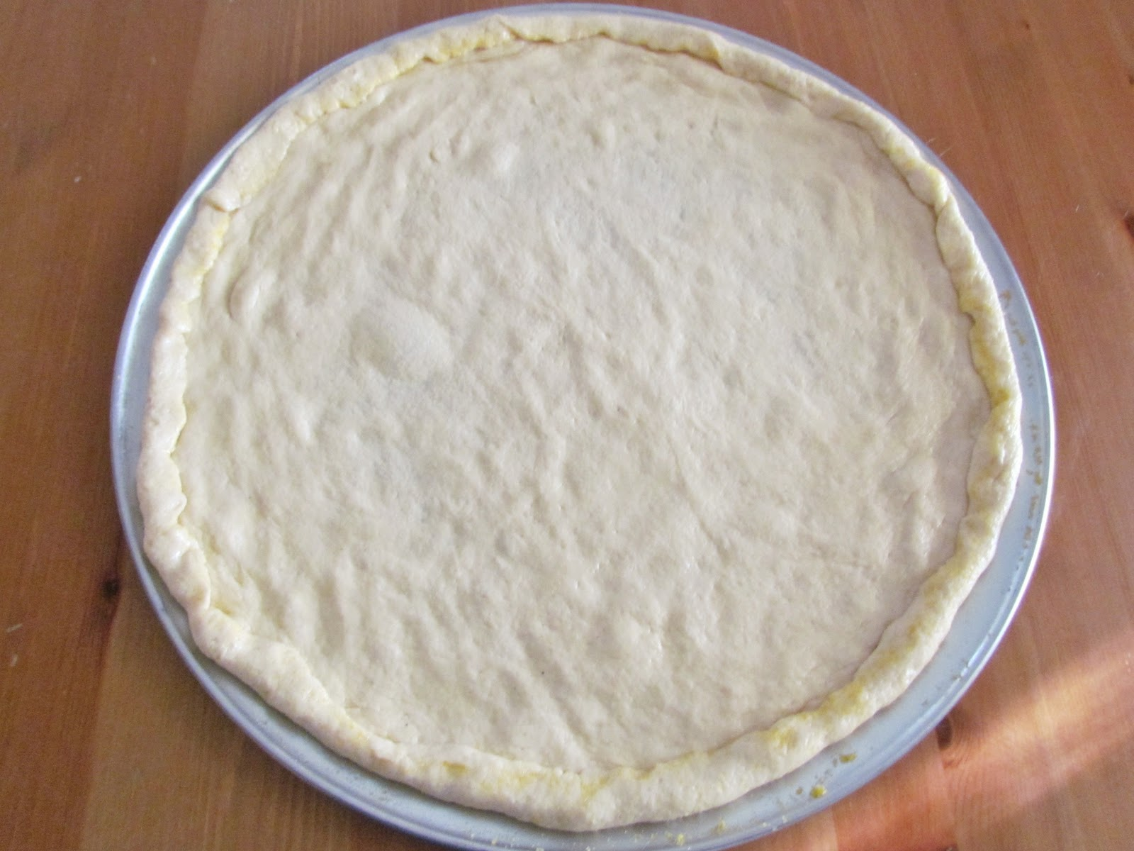 pizza dough semolina pizza dough well fed everyone semolina whole ...