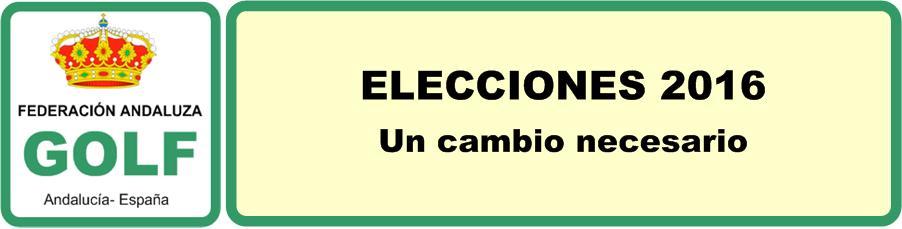 Elecciones RFGA 2016