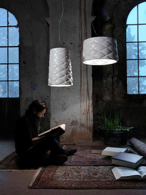 Memory suspension lamp by Matteo Ugolini