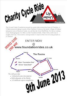 ridesflyer2 Charity Bike Ride Entries Close Soon!
