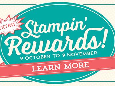 Newsflash - Earn Extra Stampin' Rewards!