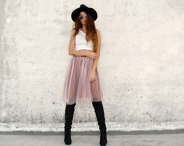tutu skirt outfit ideas