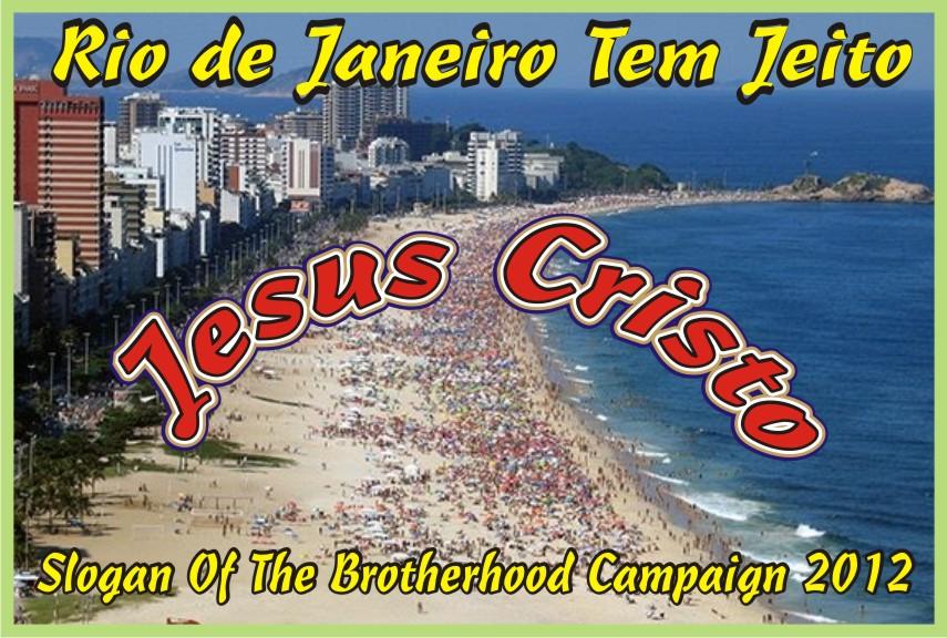 Rio de Janeiro Tem Jeito Jesus Cristo