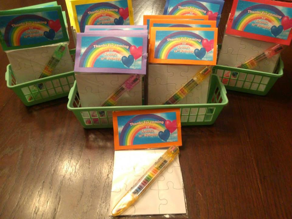 book wine and time rainbow party favors
