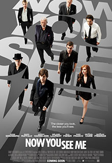 Now You See Me Film Poster 2013