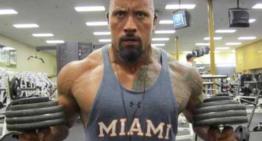Dwayne Johnson (The Rock) - Dieta e Treino para o filme Pain and Gain