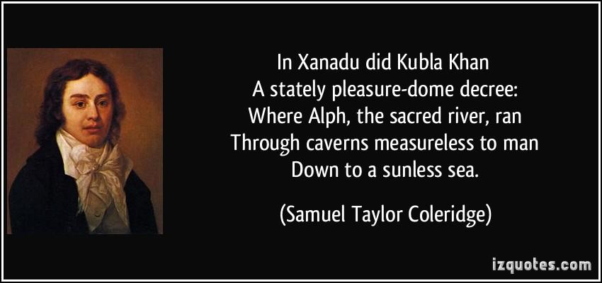 essay on coleridges kubla khan